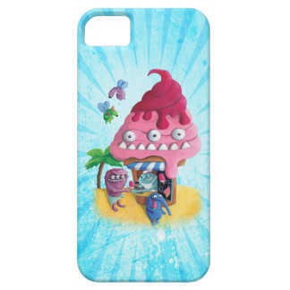 Helado en la playa iPhone 5 funda