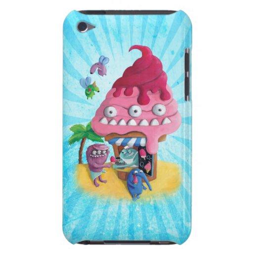 Helado en la playa iPod Case-Mate carcasas