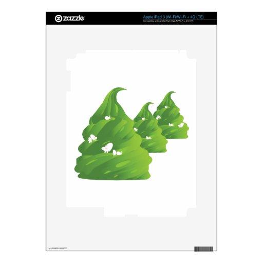 helado grass.ai pegatinas skins para iPad 3