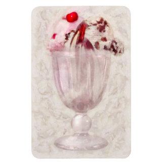 - Helado - helado dulce del helado Rectangle Magnet