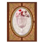 - Helado - helado dulce del helado Tarjetas Postales