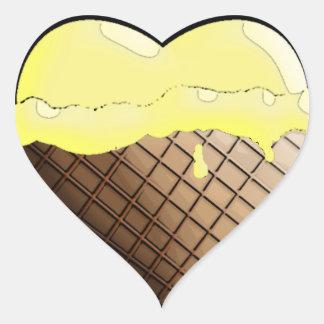¡Helado I (del corazón)! Amarillo