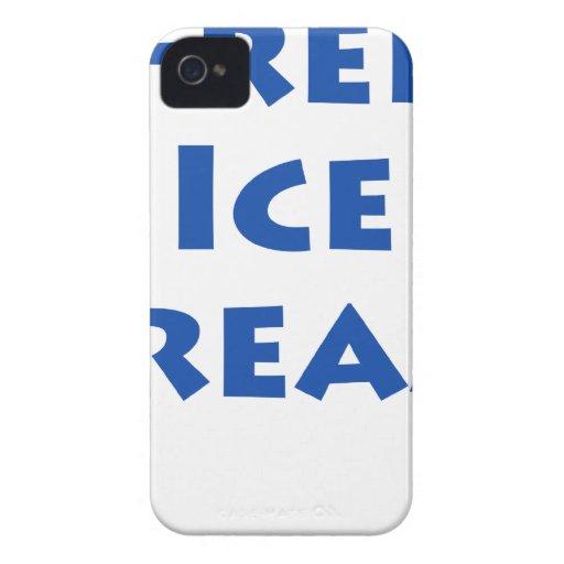 Helado libre iPhone 4 Case-Mate cobertura