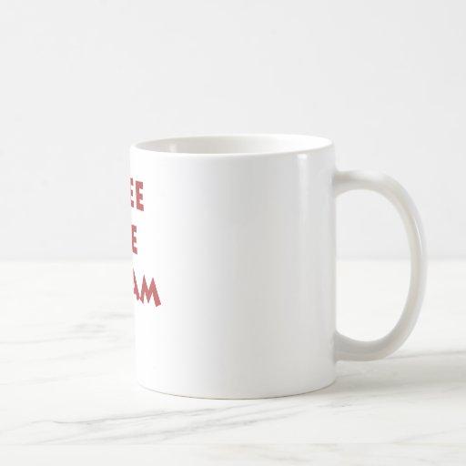 Helado libre taza básica blanca