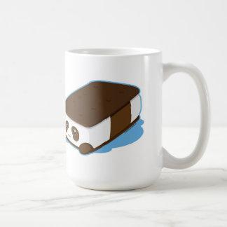 Helado lindo de la barra de la panda tazas de café