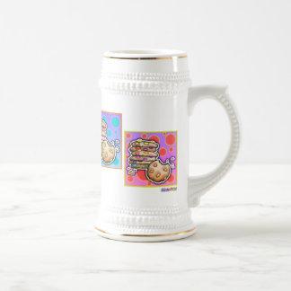Helado, tazas - galletas del arte pop