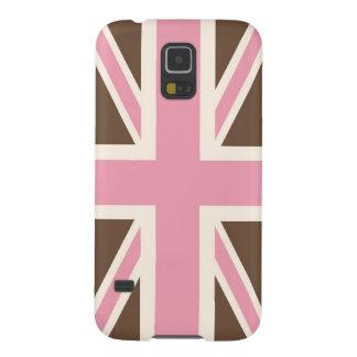 Helado Union Jack clásico Británicos (Reino Unido) Carcasas Para Galaxy S5