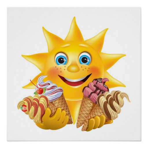 ¡Helado y Sun feliz! SRF Poster