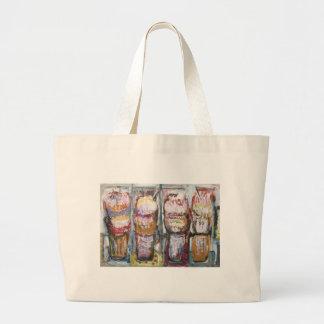 Helados abstractos del helado (expresionismo de la bolsa