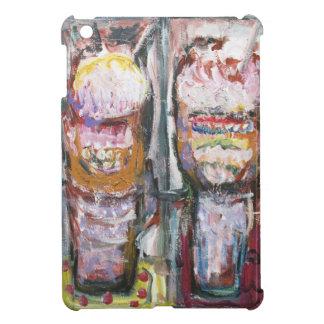 Helados abstractos del helado (expresionismo de la iPad mini funda