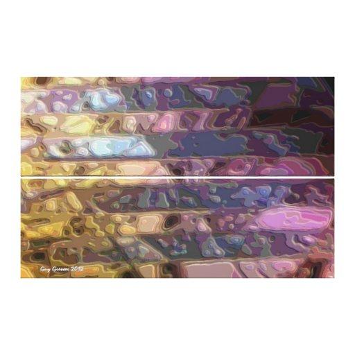Helados napolitanos lona estirada galerias