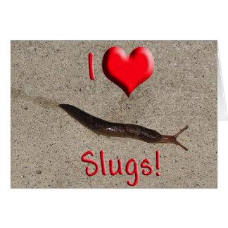 Helaine s Slug Greeting Cards