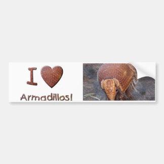 Helaine's Armadillo Bumper Sticker