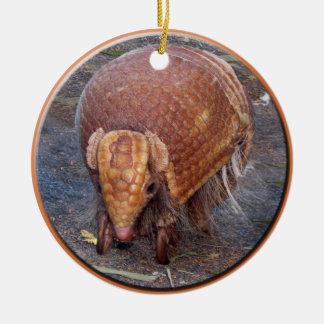 Helaine's Armadillo Ceramic Ornament
