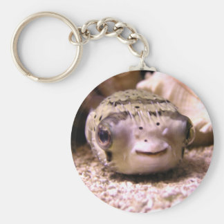 Helaine's Blowfish Pufferfish Keychain