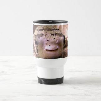 Helaine's Blowfish Pufferfish Travel Mug