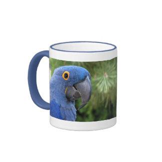 Helaine's Blue Parrot Mug