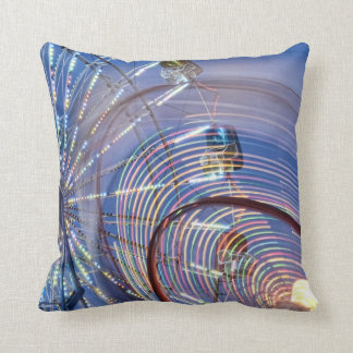 Helaine's Carnival Rides Pillow