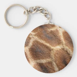 Helaine's Giraffe Pattern Keychain