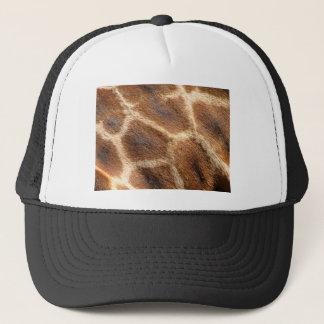 Helaine's Giraffe Pattern Trucker Hat