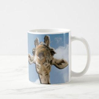 Helaine's Goofy Giraffe Mugs