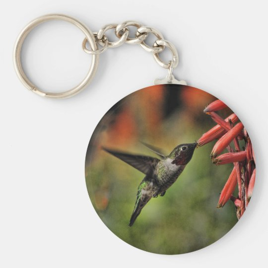 Helaine's Hummingbird 2 Keychain