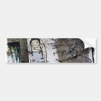 Helaine's Japanese Graffiti Bumper Stickers