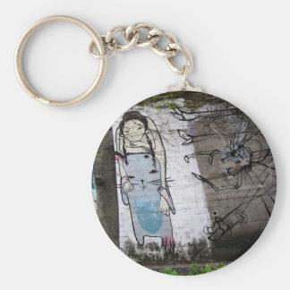 Helaine's Japanese Graffiti Keychain
