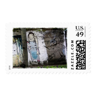 Helaine's Japanese Graffiti Postage Stamps