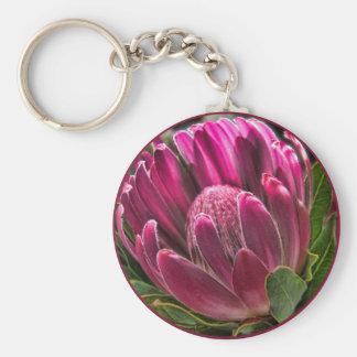 Helaine's Proteas Flower Keychain