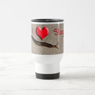 Helaine's Slug 15 Oz Stainless Steel Travel Mug