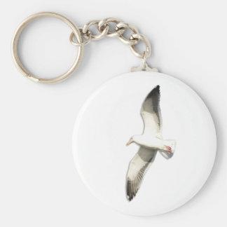 Helaine's Soaring Seagull Keychain