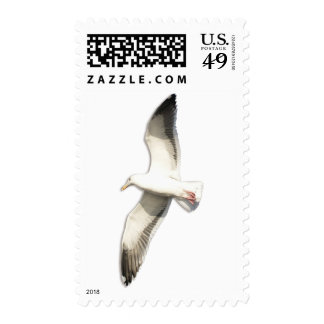 Helaine's Soaring Seagull Postage Stamp