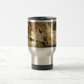 Helaine's Tiger and Cub Travel Mug