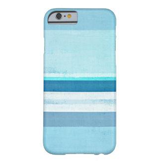 """""""Helando"""" la caja azul del iPhone del arte Funda Para iPhone 6 Barely There"""