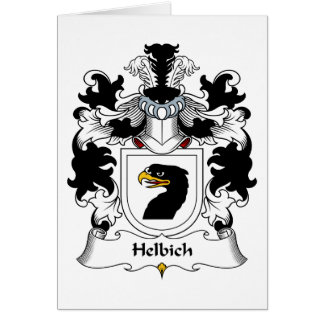 Helbich Family Crest Greeting Card