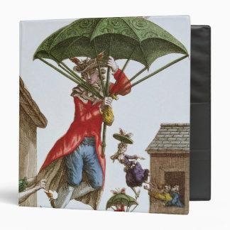 Held Aloft by Umbrellas and Butterflies Binder