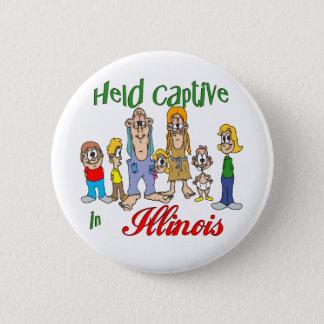 Held Captive in Illinois Button