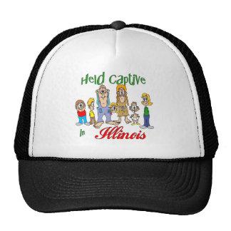 Held Captive in Illinois Mesh Hats