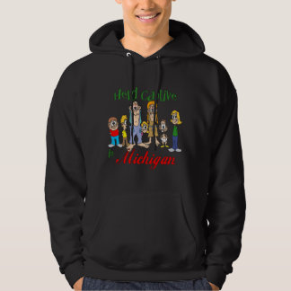 Held Captive in Michigan Hooded Sweatshirt