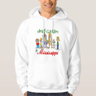 Held Captive in Mississippi Hooded Pullover