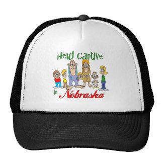 Held Captive in Nebraska Trucker Hat