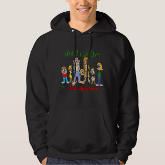 Held Captive in New Hampshire Hooded Sweatshirt