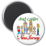 Held Captive in New Jersey 2 Inch Round Magnet