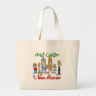 Held Captive in New Mexico Tote Bag