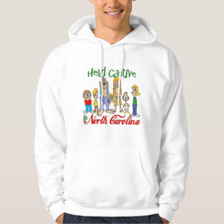 Held Captive in North Carolina Hooded Sweatshirt