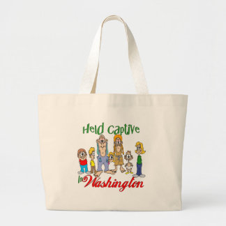 Held Captive in Washington Canvas Bags