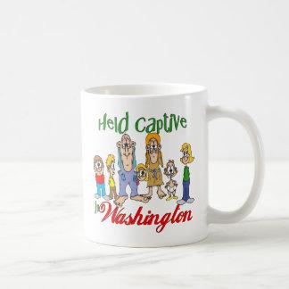 Held Captive in Washington Coffee Mug