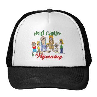 Held Captive in Wyoming Trucker Hat
