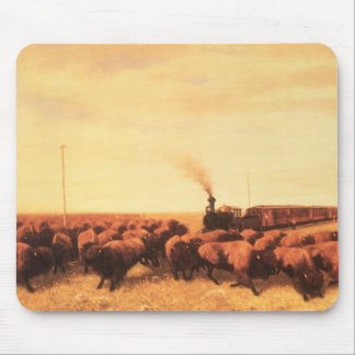 Held Up by NH Trotter, Vintage American West Mousepads